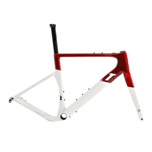 3T Exploro RaceMax Frameset - Red/ White