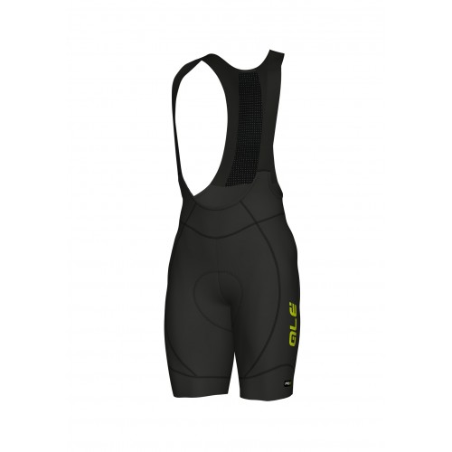 ALÉ Cycling Linea PRR 2.0 Agonista 2 Bibshort - Black/Fluo Yellow