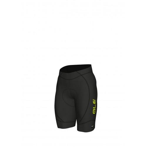 ALÉ Linea PRR 2.0 Agonista 2 Shorts - Black/ Fluo Yellow