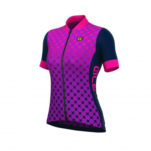 ALÉ Excel Bolas Women's Jersey - Orchid Violet/ Fluo Pink