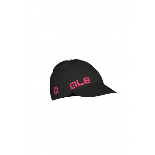 ALÉ Cycling Summer Cap - Black/Fluo Pink