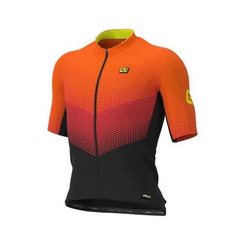 ALÉ Delta Orange Men Short Sleeves Jersey | Graphics PRR