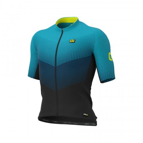 ALÉ Delta Turquoise Men Short Sleeves Jersey | Graphics PRR