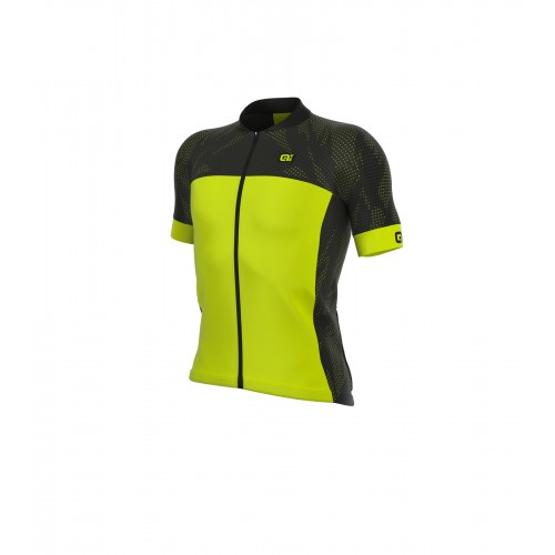 ALÉ Cycling Formula 1.0 Ultimate Jersey - Black/Fluo Yellow