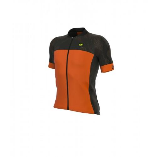 ALÉ Formula 1.0 Ultimate Jersey - Black/ Fluo Orange