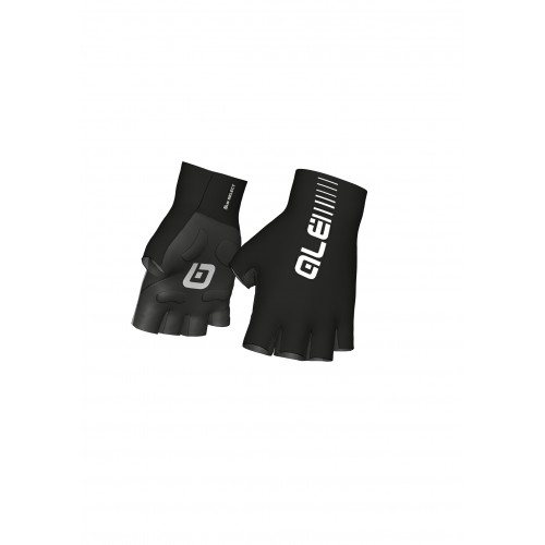 ALÉ Cycling Sunselect Crono Glove - Black/White
