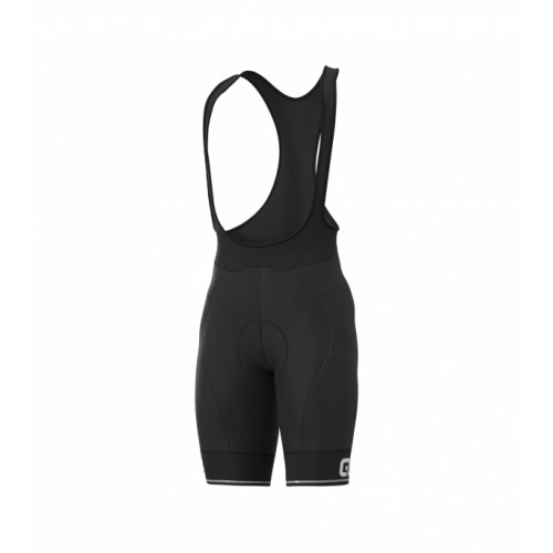 ALÉ Linea Solid Corsa Bibshort Black White