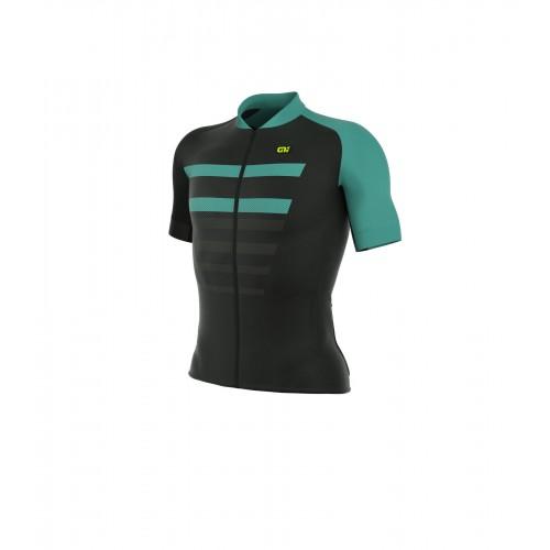 ALÉ PRR 2.0 Piuma Short Sleeve Jersey Black/Turquoise