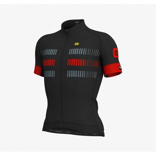 ALÉ PRR 2.0 Strada Jersey - Black/ Red