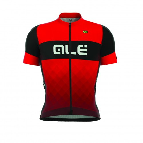 ALÉ R-EV1 Rumbles Short Sleeve Jersey - Black/Red