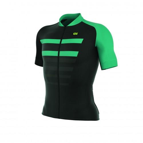 ALÉ REV 1 Piuma Short Sleeve Jersey Black/Turquoise