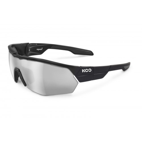 Koo Open Cube Black/ Smoke Mirror Lens (Asian Fit)