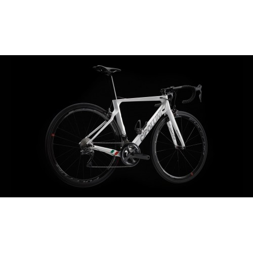 Cipollini Bond 2 Disc Total White Pearl Anthracite Shiny Carbon Frameset