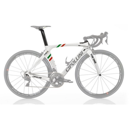 Mario M Cipollini RB1K 'The One' Italian Champion Shiny Carbon Frameset