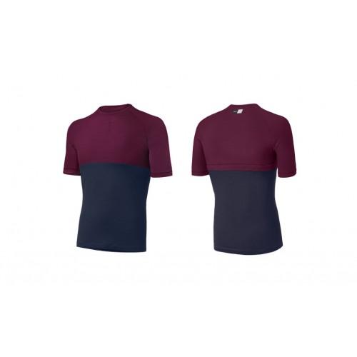PEdALED Iki Merino T-Shirt - Bordeaux