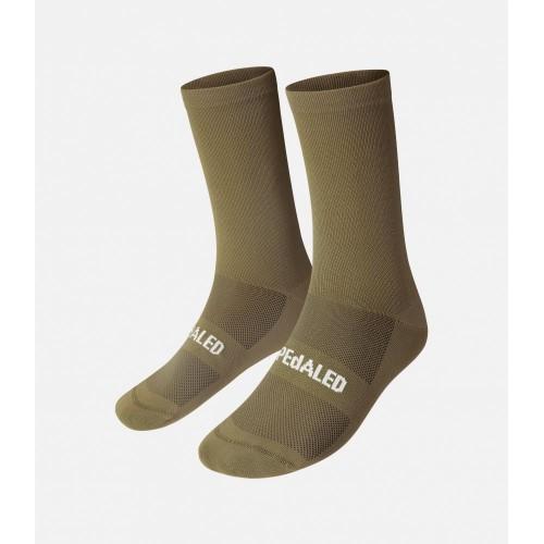 PEdALED Mirai II Socks Olive Green