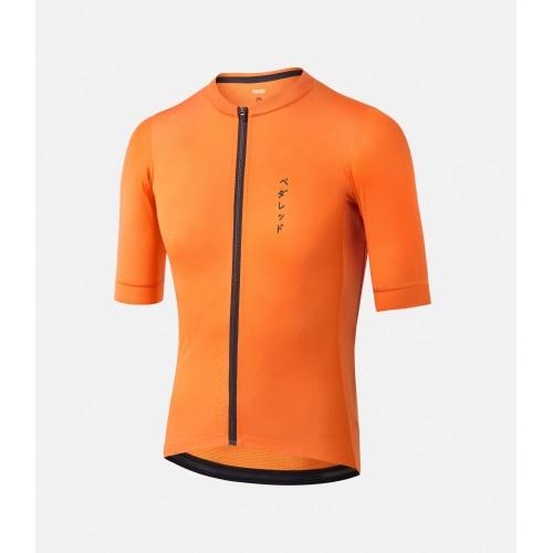 PEdALED Mirai II Lightweight Cycling Jersey Orange