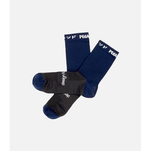 PEdALED Pro Plain Socks - Navy