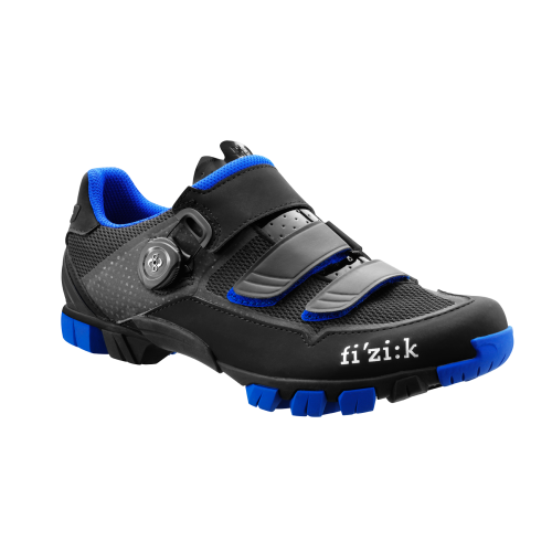 Fizik M6 BOA Black Blue Mens Cycling Shoes