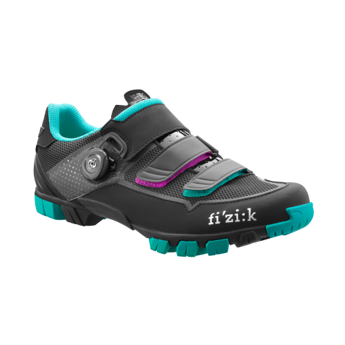 Fizik M6 BOA Donna Black Emerald Green Woman Shoes