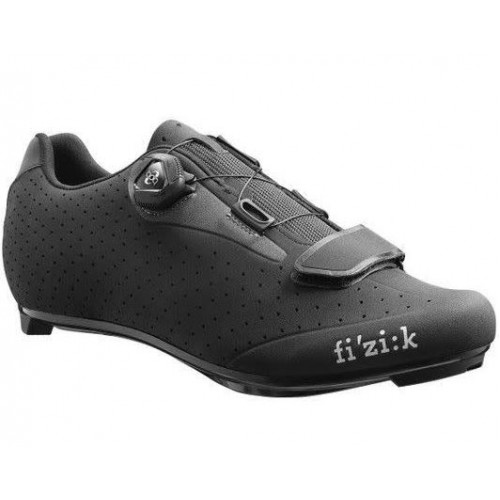 Fizik R5 BOA Cycling Shoes Black Dark Grey