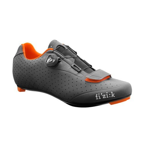 Fizik R5 BOA Cycling Shoes Anthracite Orange